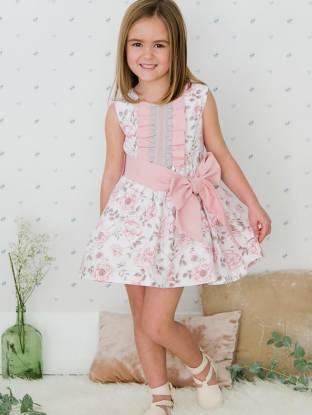 Vestido niña estampado floral de Nekenia | Aiana Larocca