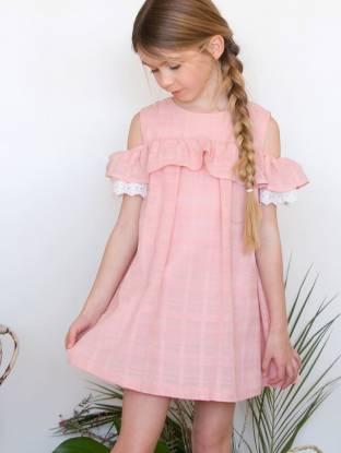 Vestido rosa de Fina Ejerique | Aiana Larocca