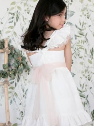 Vestido niña esencia de lino de Aiana Larocca | Aiana Larocca