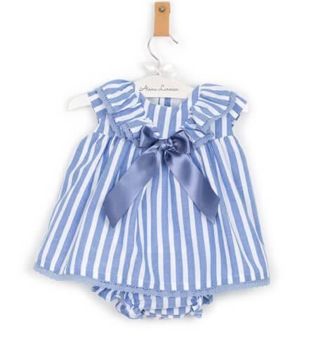 000a3a3ae Jesusito a rayas azul de Valentina Bebés