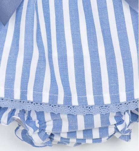 Jesusito a rayas azul de Valentina Bebés | Aiana Larocca