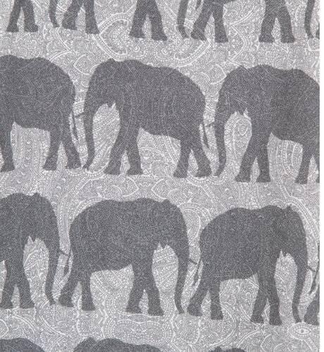 Vestido niña estampado elefantes de josé Varón | Aiana Larocca