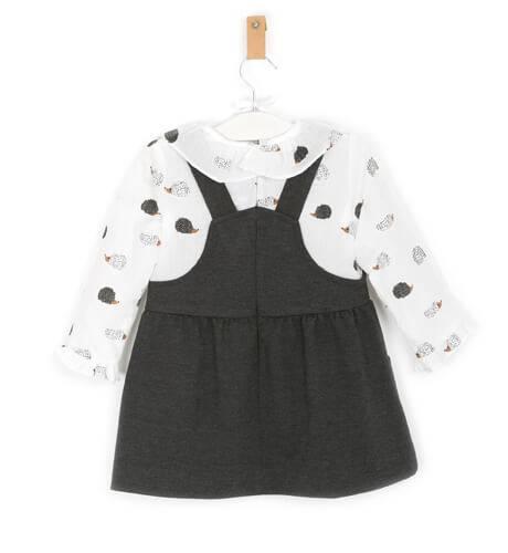 Vestido estilo pichi estampado erizos de Ancar   Aiana Larocca