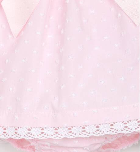 Jesusito bebe plumeti rosa de Valentina Bebés | Aiana Larocca