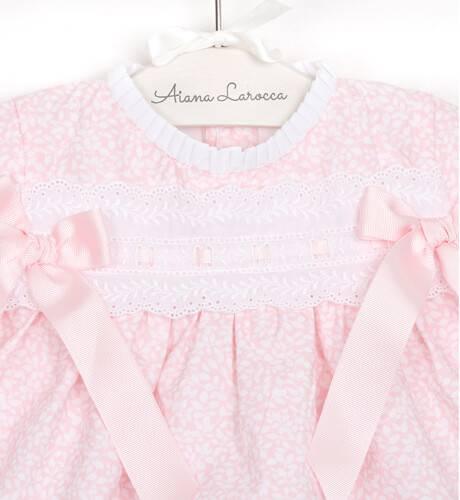 Jesusito bebe estampado rosa de Valentina Bebés | Aiana Larocca