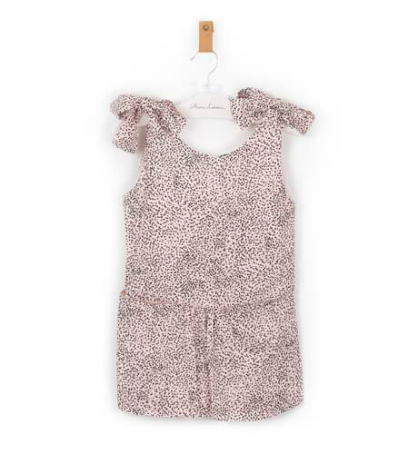 Vestido niña Malena rosa de Nueces Kids | Aiana Larocca