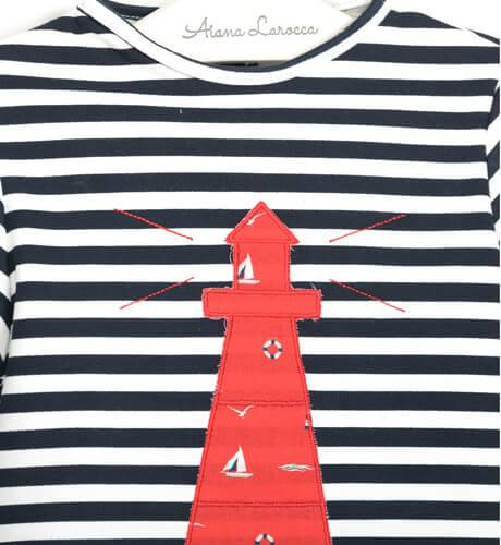 Conjunto niño marinero faro de Valentina Bebés | Aiana Larocca