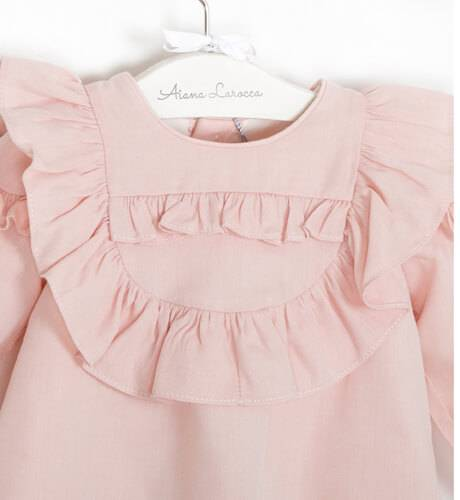 Vestido rosa de Rochy | Aiana Larocca