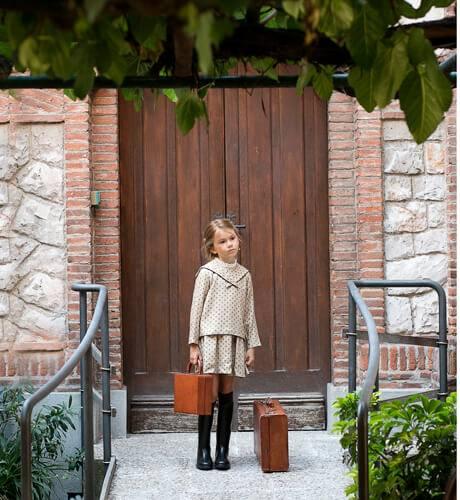 Vestido niña calaveras de Ancar | Aiana Larocca