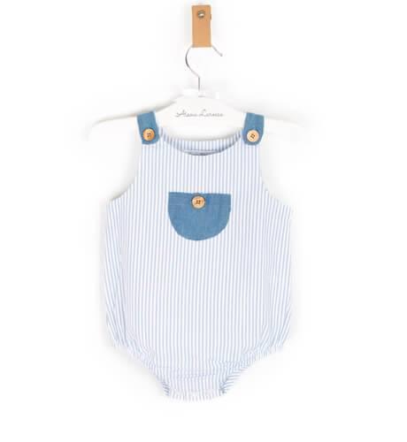 Ranita bebé a rayas bolsillito de Fina Ejerique | Aiana Larocca