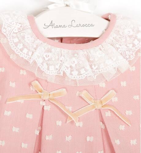 Jesusito viella plumeti rosa de Dolce Petit | Aiana Larocca