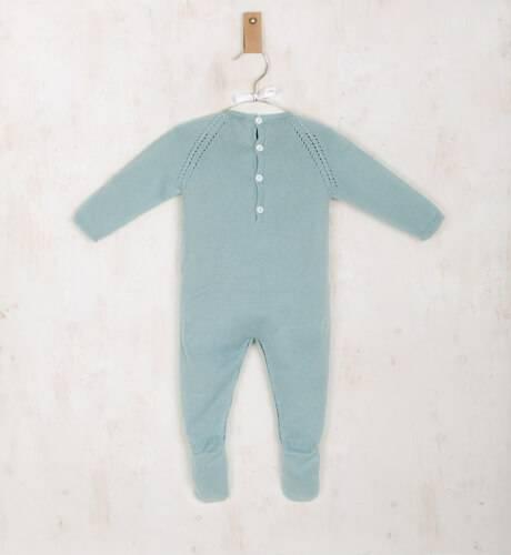 Pelele bebe largo verde de Wedoble | Aiana Larocca