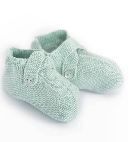 Patucos bebé verdes de Wedoble | Aiana Larocca