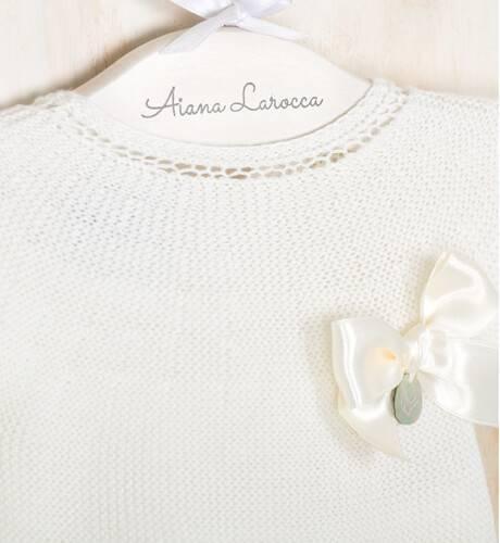 Conjunto pelele crudo de Punto Solita | Aiana Larocca