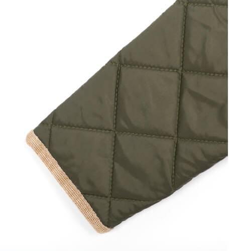 Abrigo guateado verde Marae | Aiana Larocca