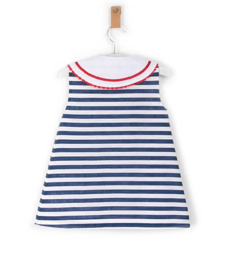 Vestido niña marinero de Marta y Paula   Aiana Larocca