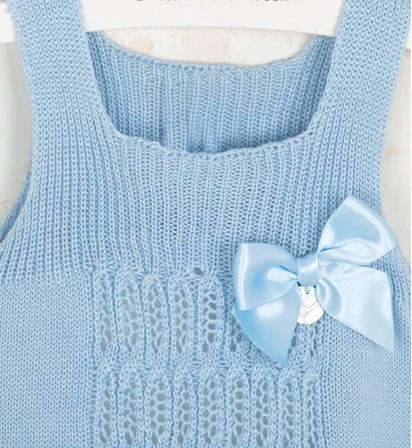 Body azul de Punto Solita | Aiana Larocca