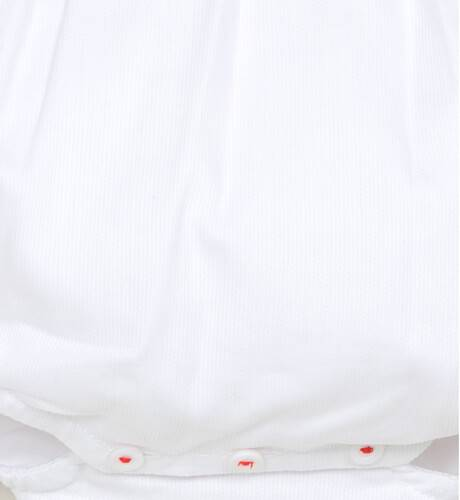Ranita polo rojo y blanco de Wedoble | Aiana Larocca