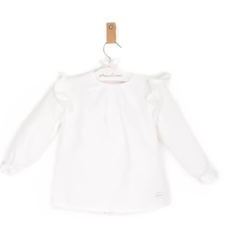 Blusa viella blanca de Cocote | Aiana Larocca