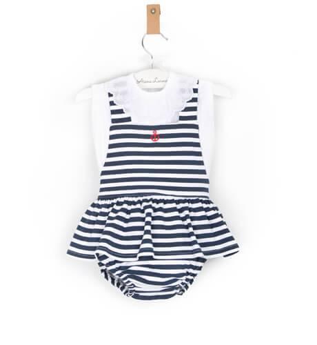 Pichi marinero con camiseta de Valentina Bebes | Aiana Larocca
