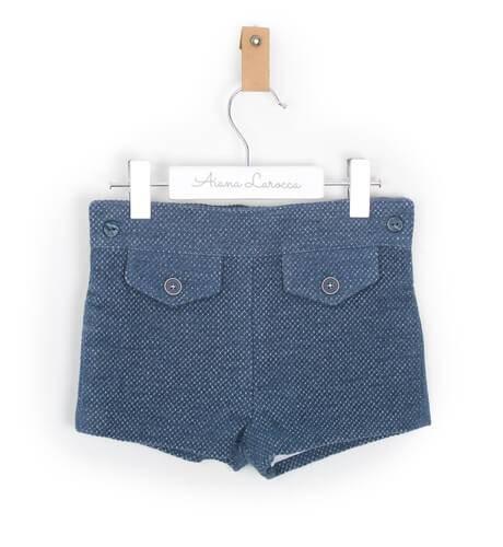 Pantalón corto pulgarcito de Foque   Aiana Larocca