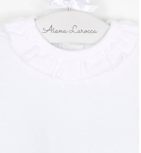 Body cuello volante de Paz Rodríguez | Aiana Larocca
