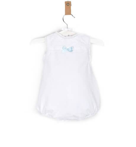 Ranita bebé plumeti puntilla bordada de Valentina Bebés | Aiana Larocca