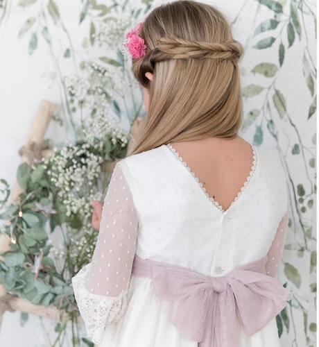 Lazada extra Vestido Comunión | Aiana Larocca