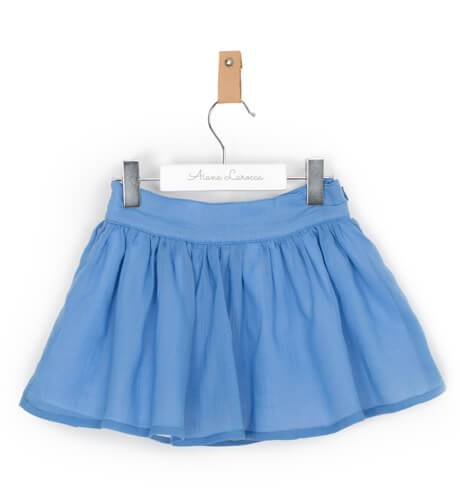 Falda niña azul de Boometi | Aiana Larocca