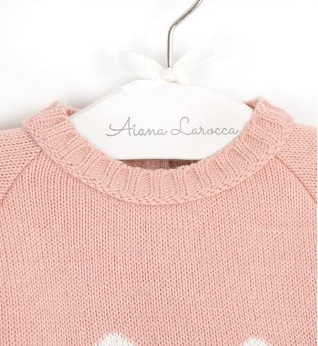 Conjunto pelele conejo rosa de Valentina Bebés   Aiana Larocca