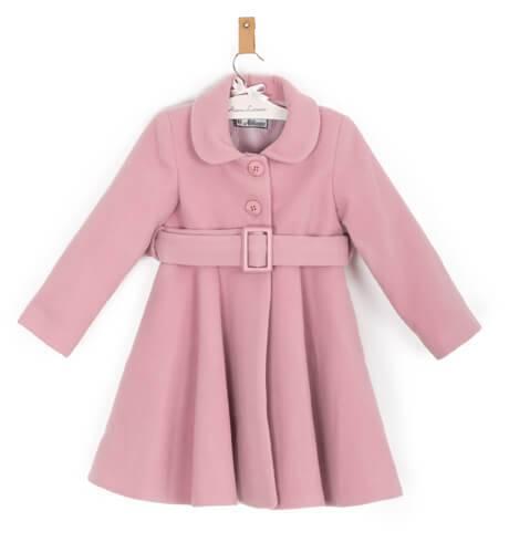 Abrigo niña muflon rosa de Nekenia | Aiana Larocca