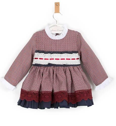 Vestido niña estilo ingles de Clemencita | Aiana Larocca