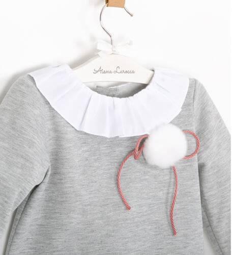 Sudadera gris de Baby Yiro | Aiana Larocca