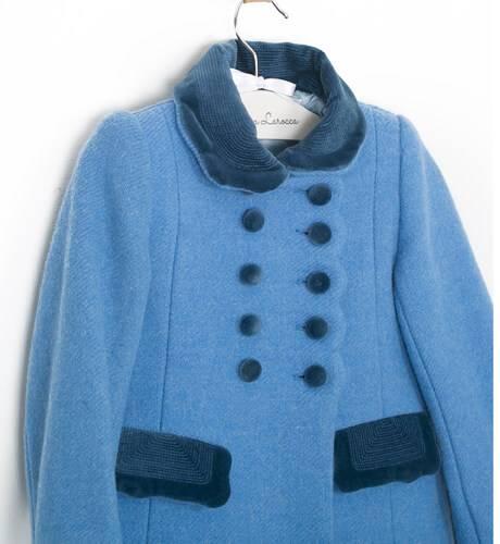 Abrigo inglés azul de Rigans | Aiana Larocca