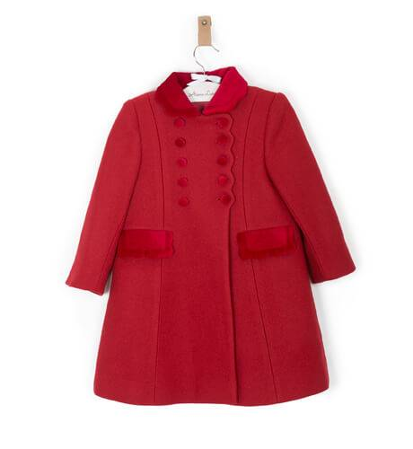 Abrigo inglés rojo de Rigans | Aiana Larocca