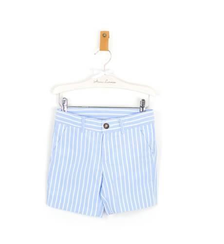 Pantalón niño a rayas azules de Cocote | Aiana Larocca