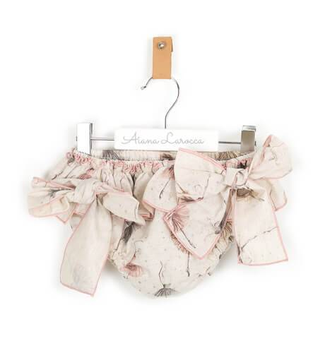 Conjunto blusa y braguita bailarinas La Peppa | Aiana Larocca