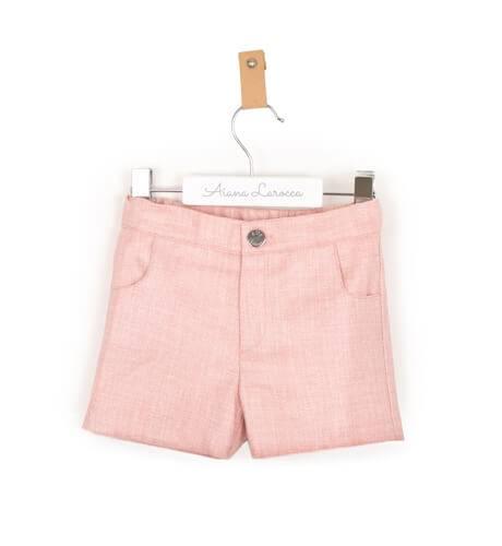 Pantalón corto rosa de Eve Children | Aiana Larocca