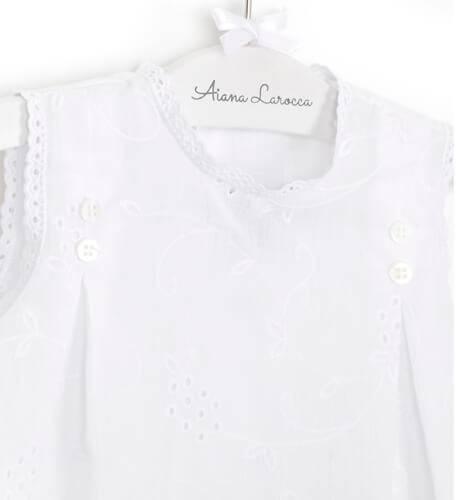 Blusita blanca de José Varón | Aiana Larocca