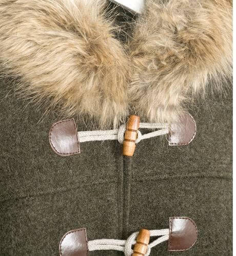Trenca Austríaca Marae con capucha | Aiana Larocca