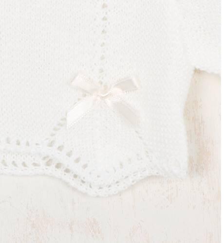 Bolero perlé lacitos | Aiana Larocca