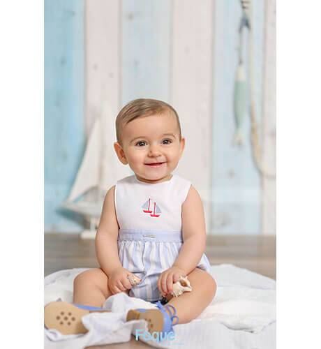 Ranita bebé marinera de Foque | Aiana Larocca