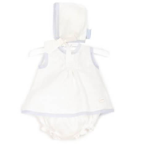 -NUEVO- Jesusito bebé lino blanco de Cocote | Aiana Larocca