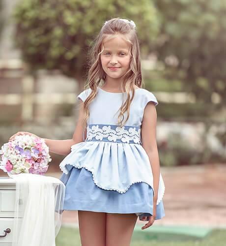 Vestido azul escote espalda de Nekenia | Aiana Larocca