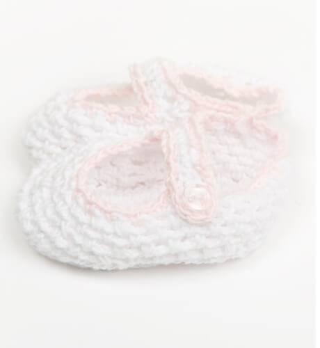 Patuquitos bebé rosa y azul | Aiana Larocca