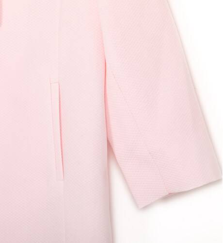 Abrigo bebe pique rosa de Dolce Petit   Aiana Larocca
