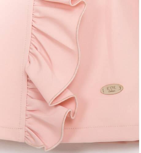 Vestido rosa volante lateral de Eve Children | Aiana Larocca