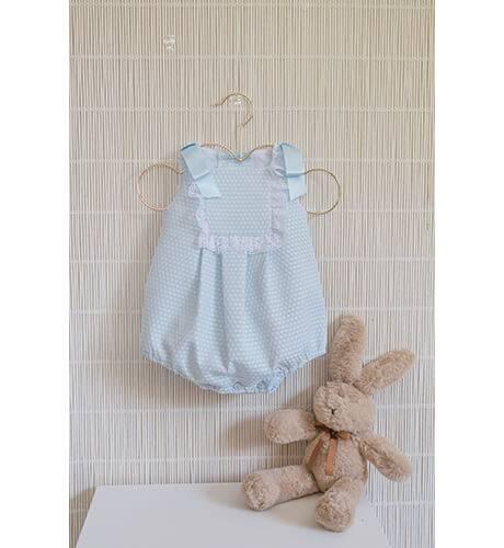 Ranita bebe pique azul de Dolce Petit | Aiana Larocca