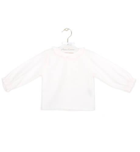 Camisa topitos rosa | Aiana Larocca