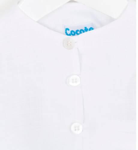 e7e33fa29 Camisa niño lino blanco de Cocote